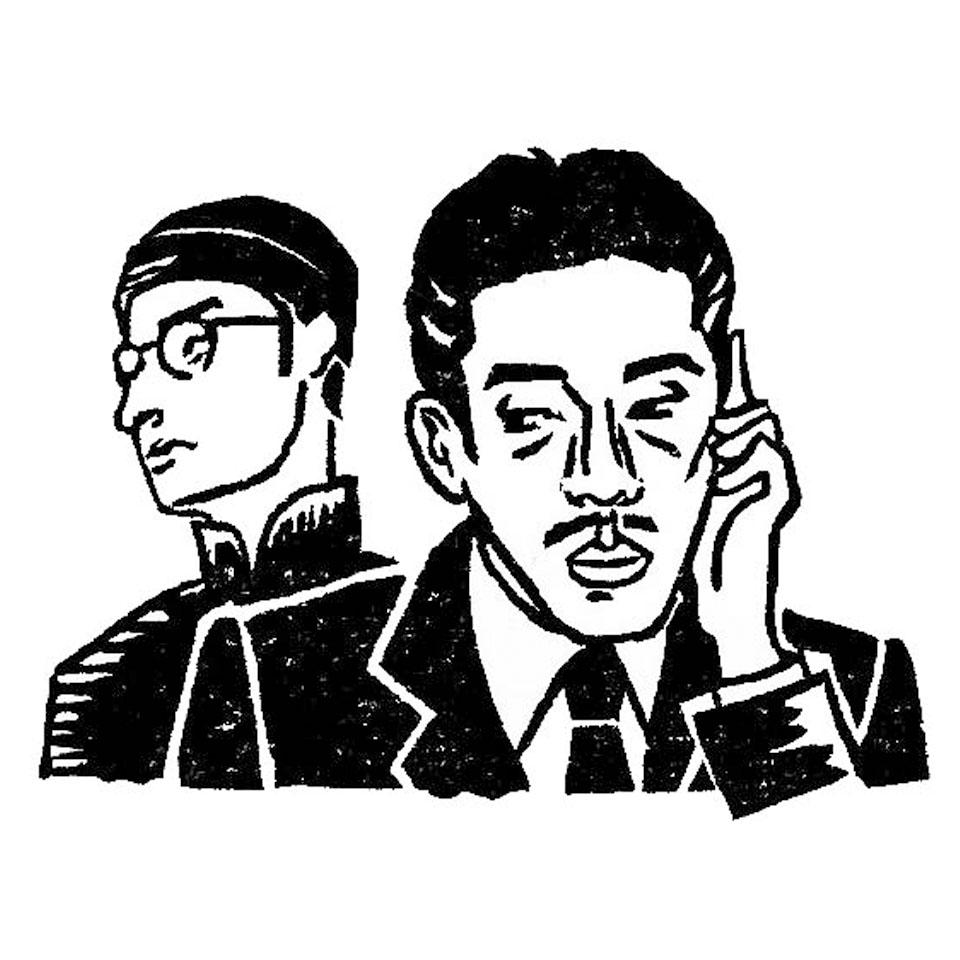 甘粕正彦と愛新覚羅溥儀【映画『ラストエンペラー』より】 | 手づくりはんこ史緒 プロフィール 作