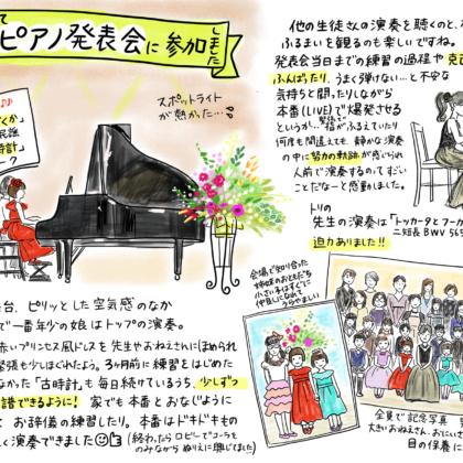 親子ピアノ発表会